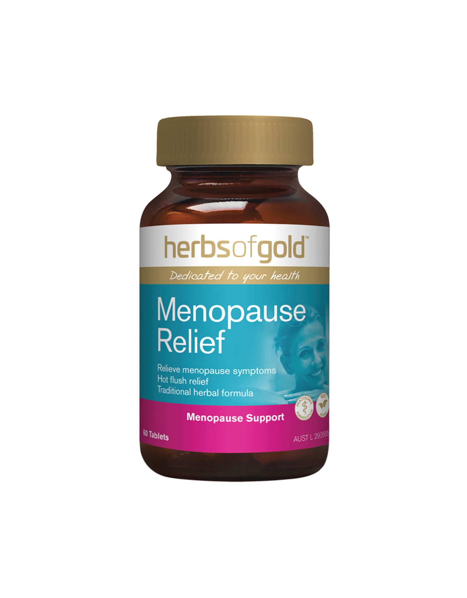 Herbs of Gold Menopause Relief 60t