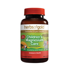 Herbs of Gold Children's Magnesium Care - Chewable - 60t
