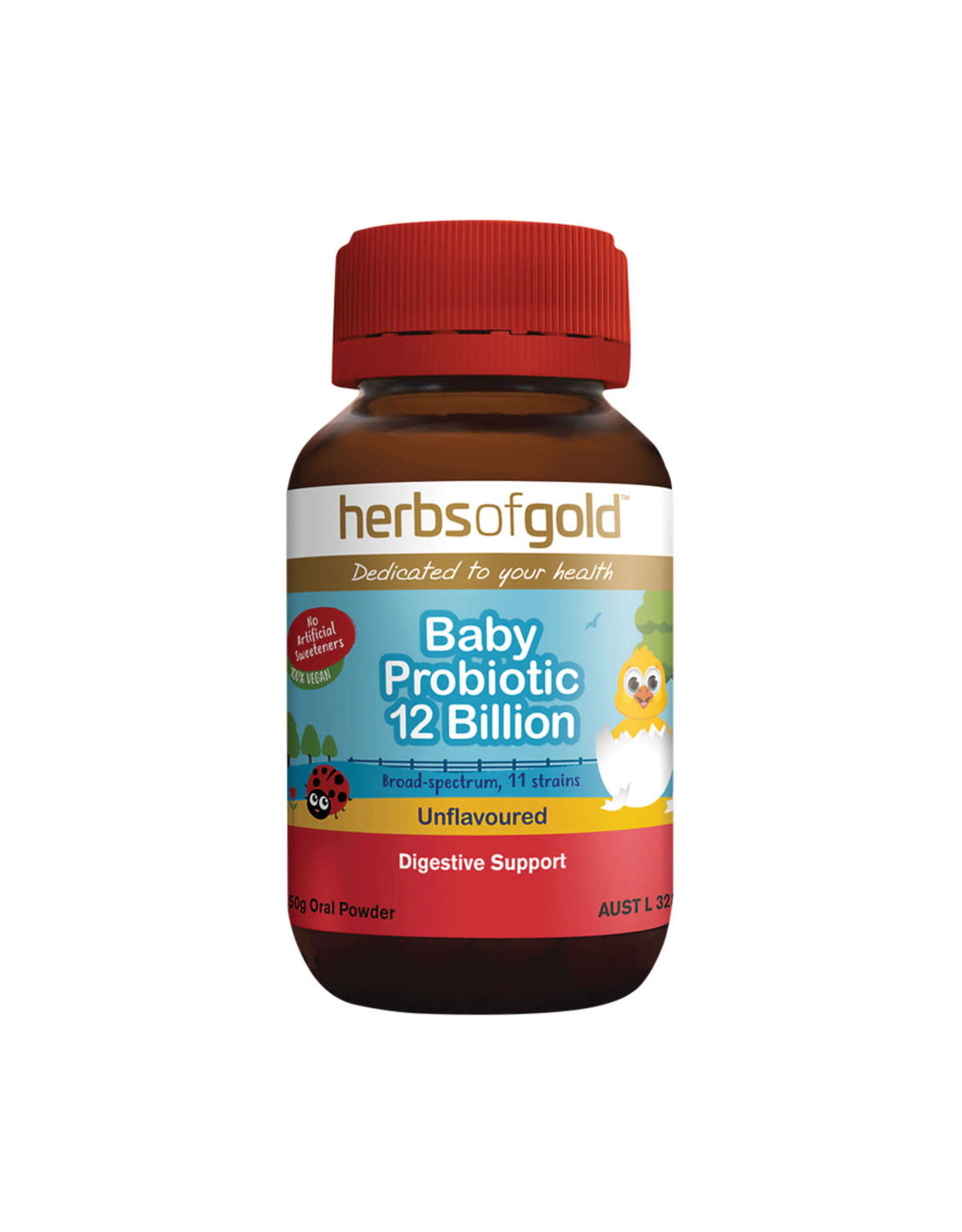Herbs of Gold Baby Probiotic 12 Billion - 50g