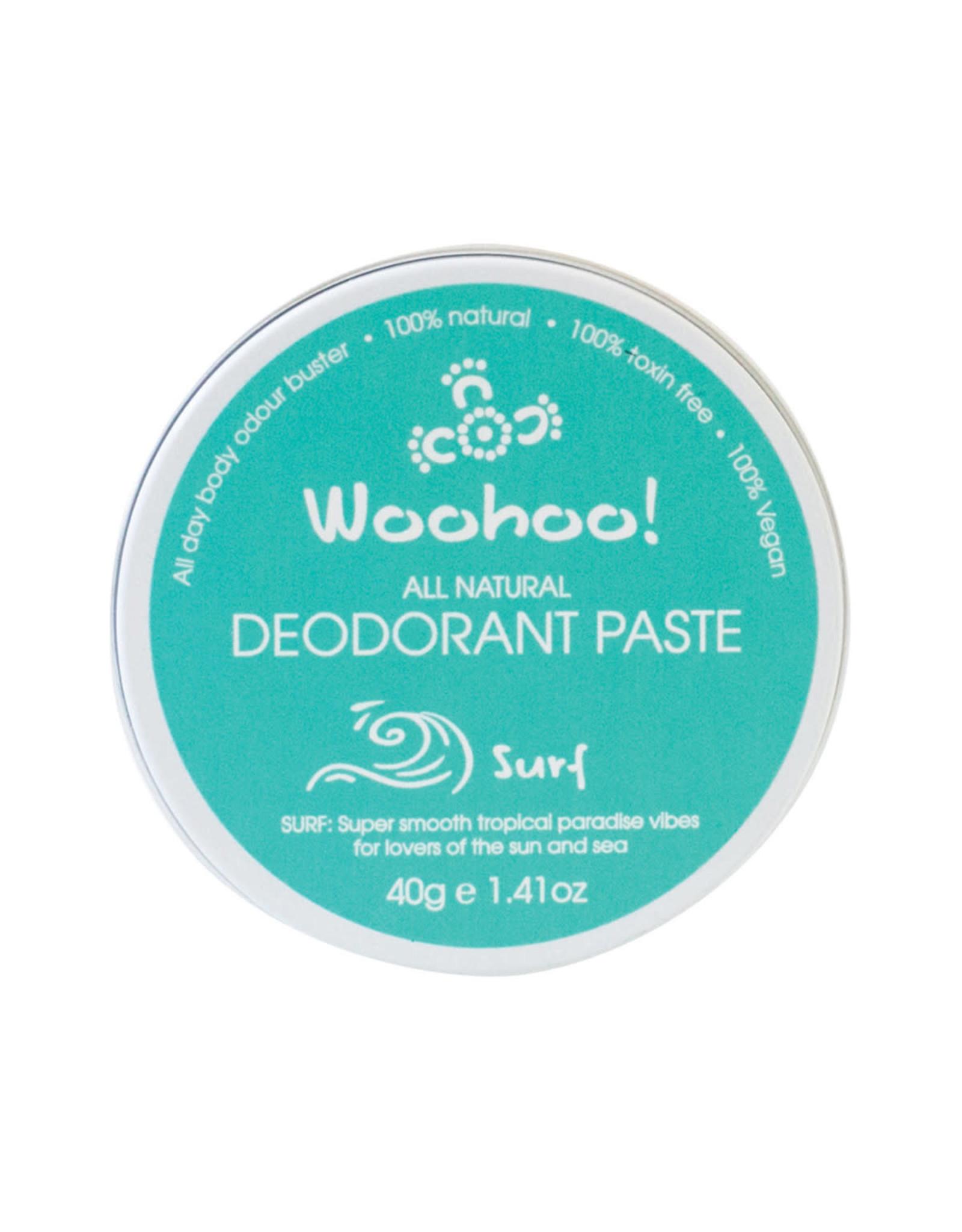 Happy Skincare Woohoo Deodorant Paste Surf 40g