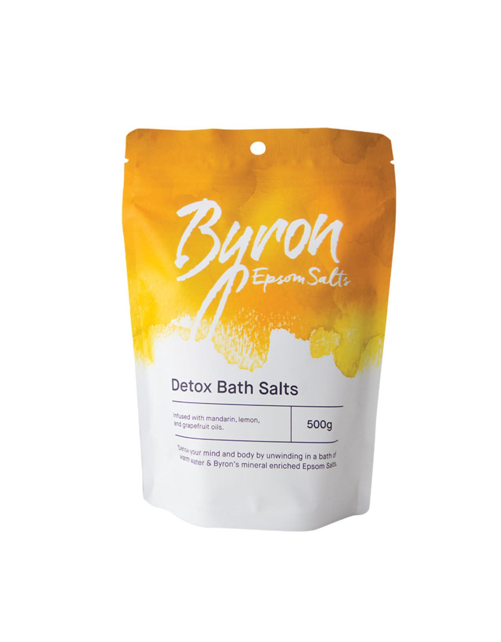 Byron Bath Salts Detox Bath Salts 500g