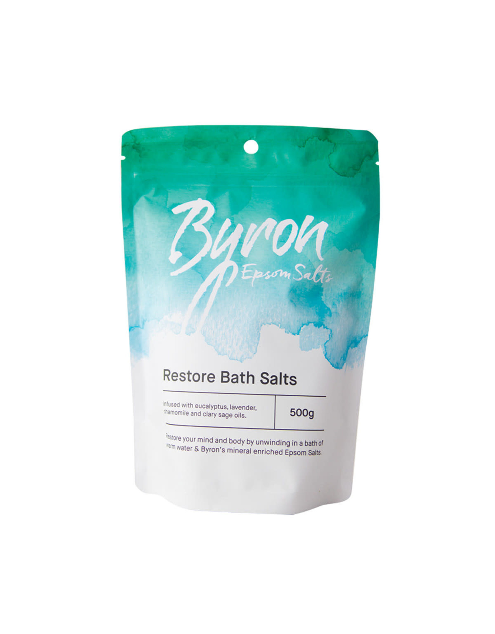 Byron Bath Salts Restore Bath Salts 500g