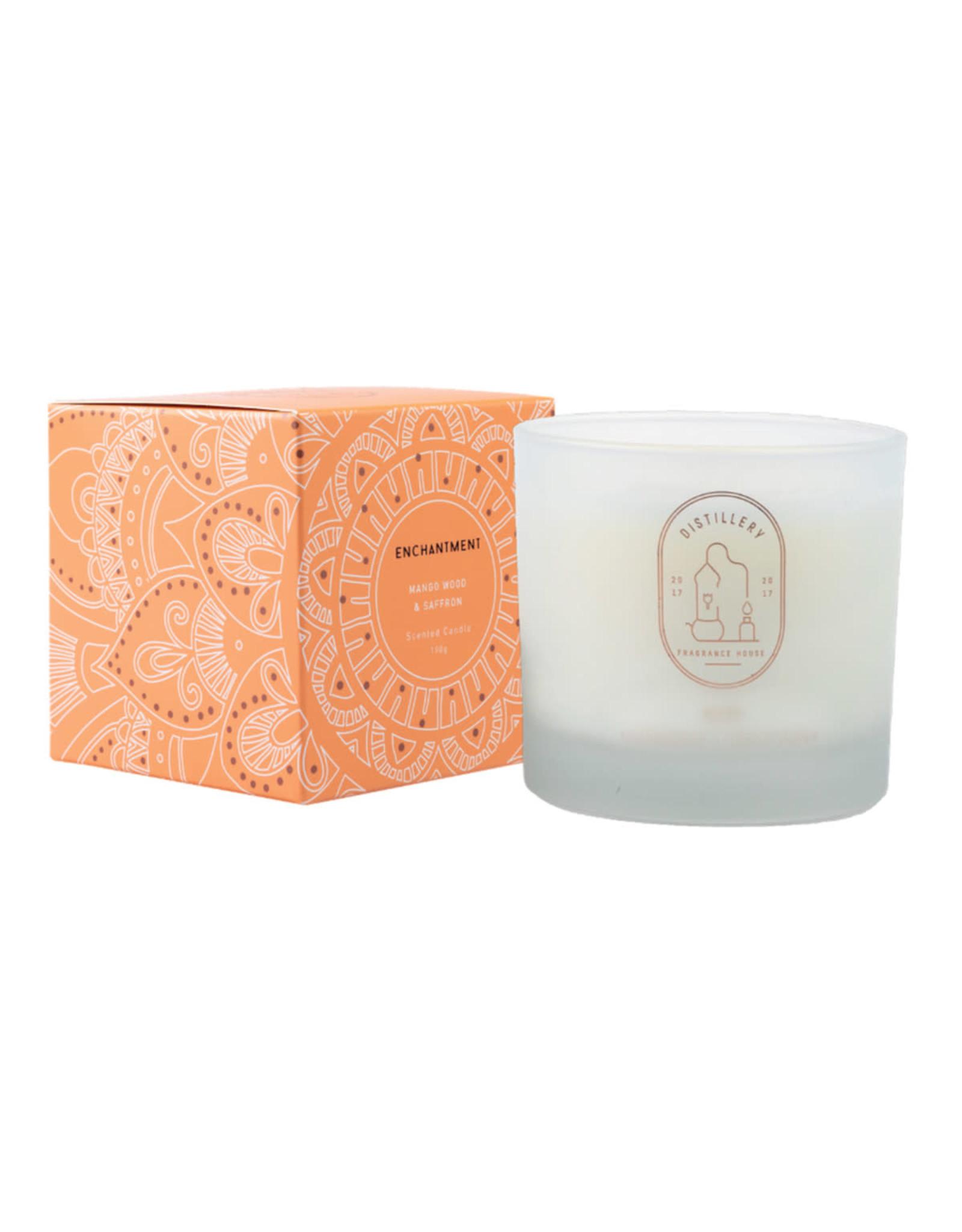 Distillery Fragrance House Soy Candle - Mango Wood & Saffron