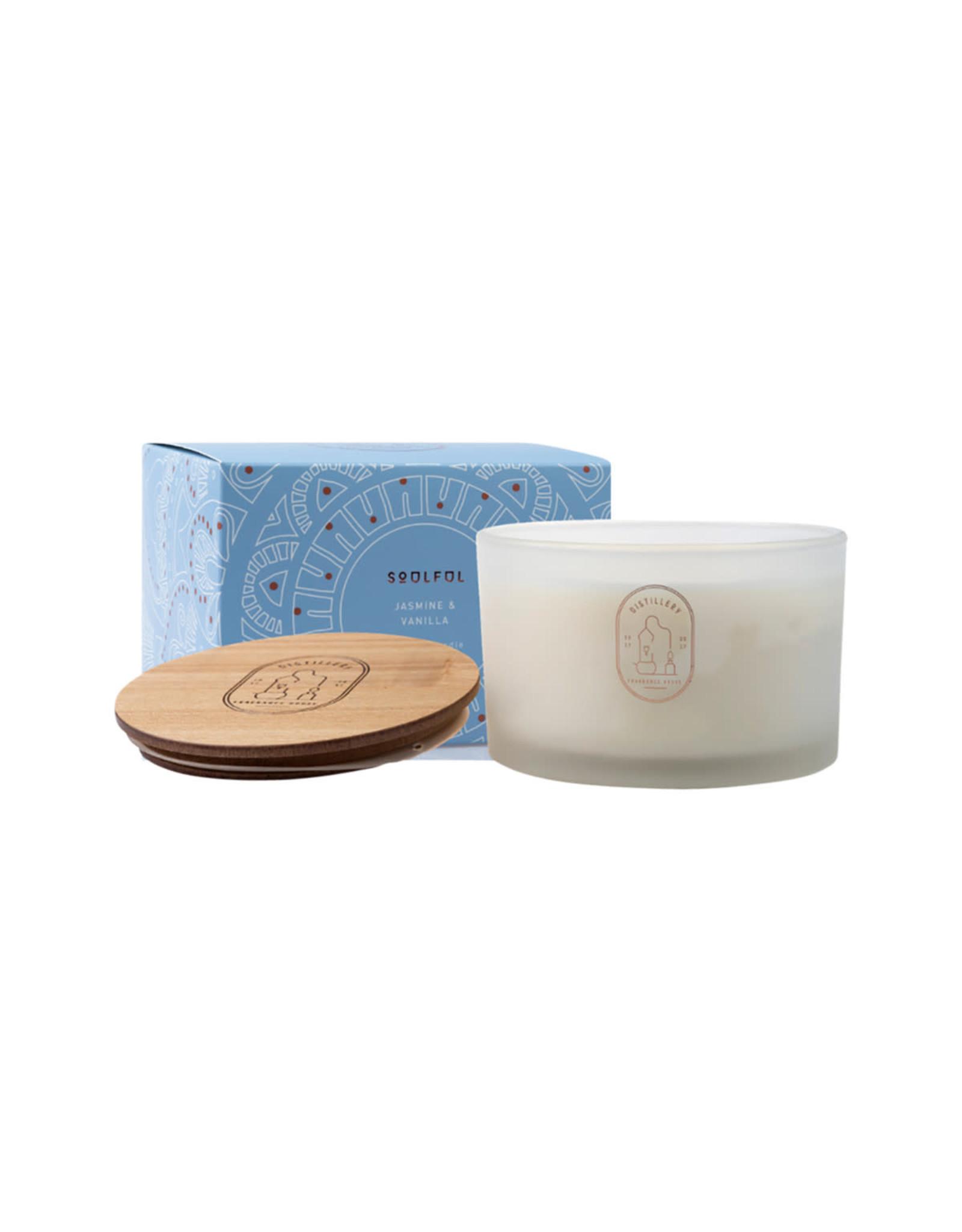 Distillery Fragrance House Soy Candle - Jasmine & Vanilla