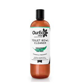 OurEco Toilet Bowl Cleaner Eucalyptus & Te Tree 500ml