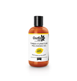 OurEco Timber Furniture Polish Lemon Myrtle 250ml