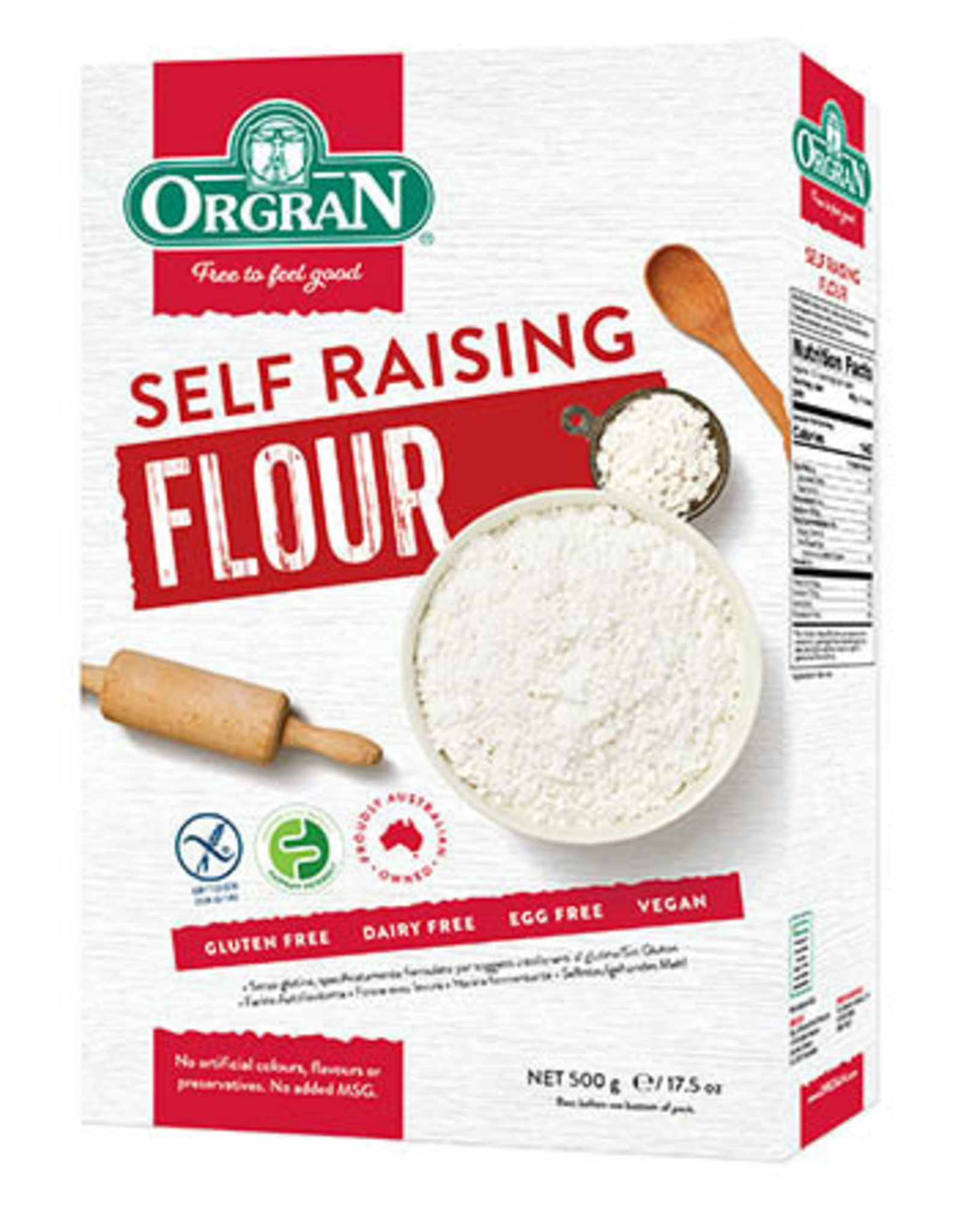 Orgran Gluten Free Self Raising Flour 500g