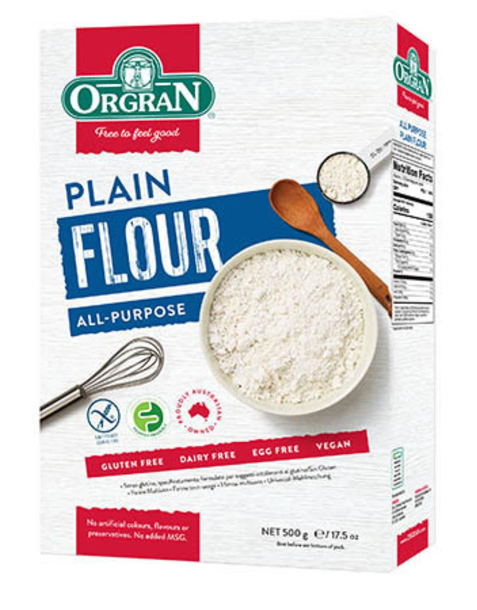 Orgran Gluten Free Plain Flour 500g
