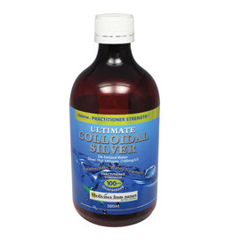 Medicines From Nature Ultimate Colloidal Silver Practitioner Strength 100ppm 500ml