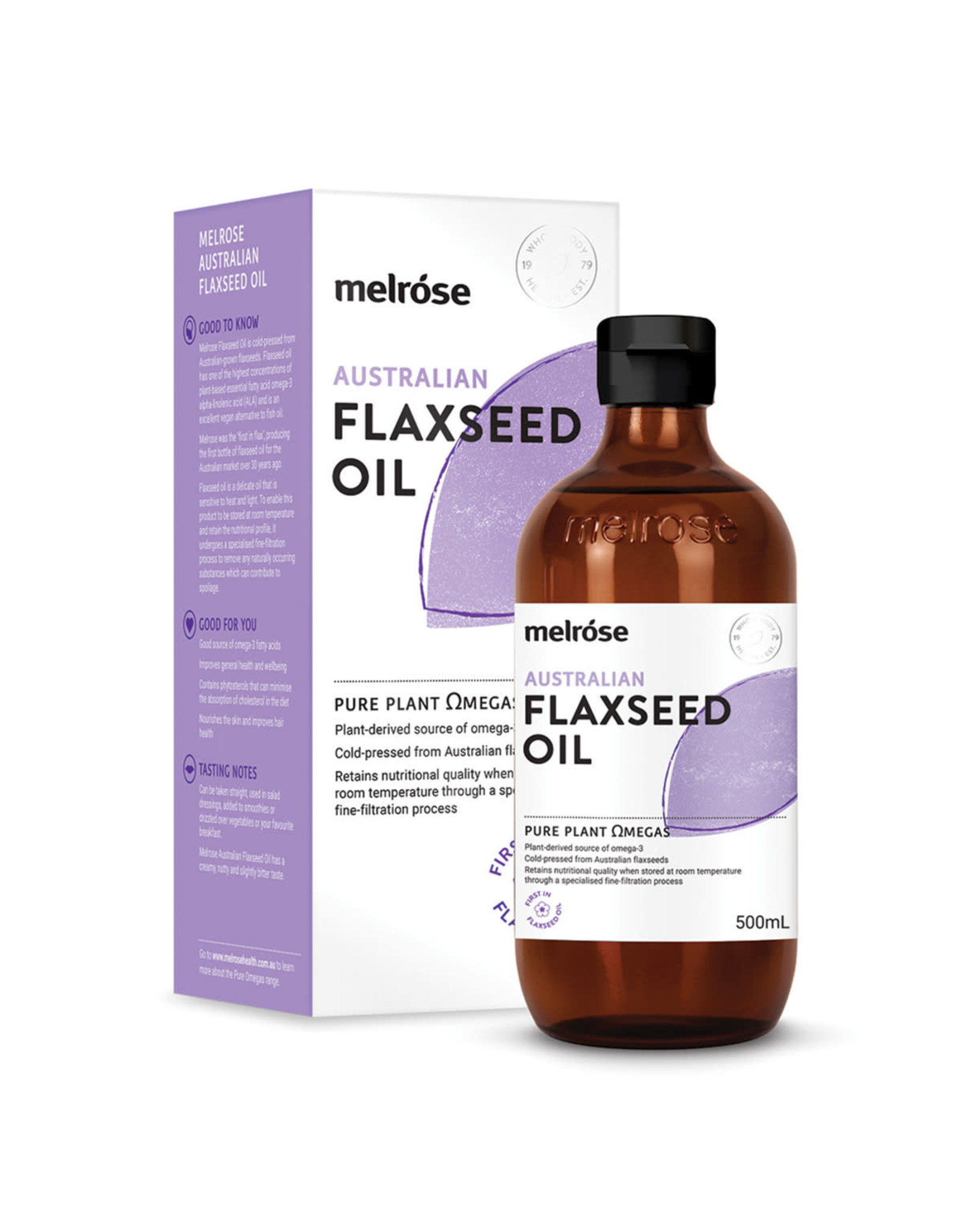 Melrose Flaxseed Oil 500ml