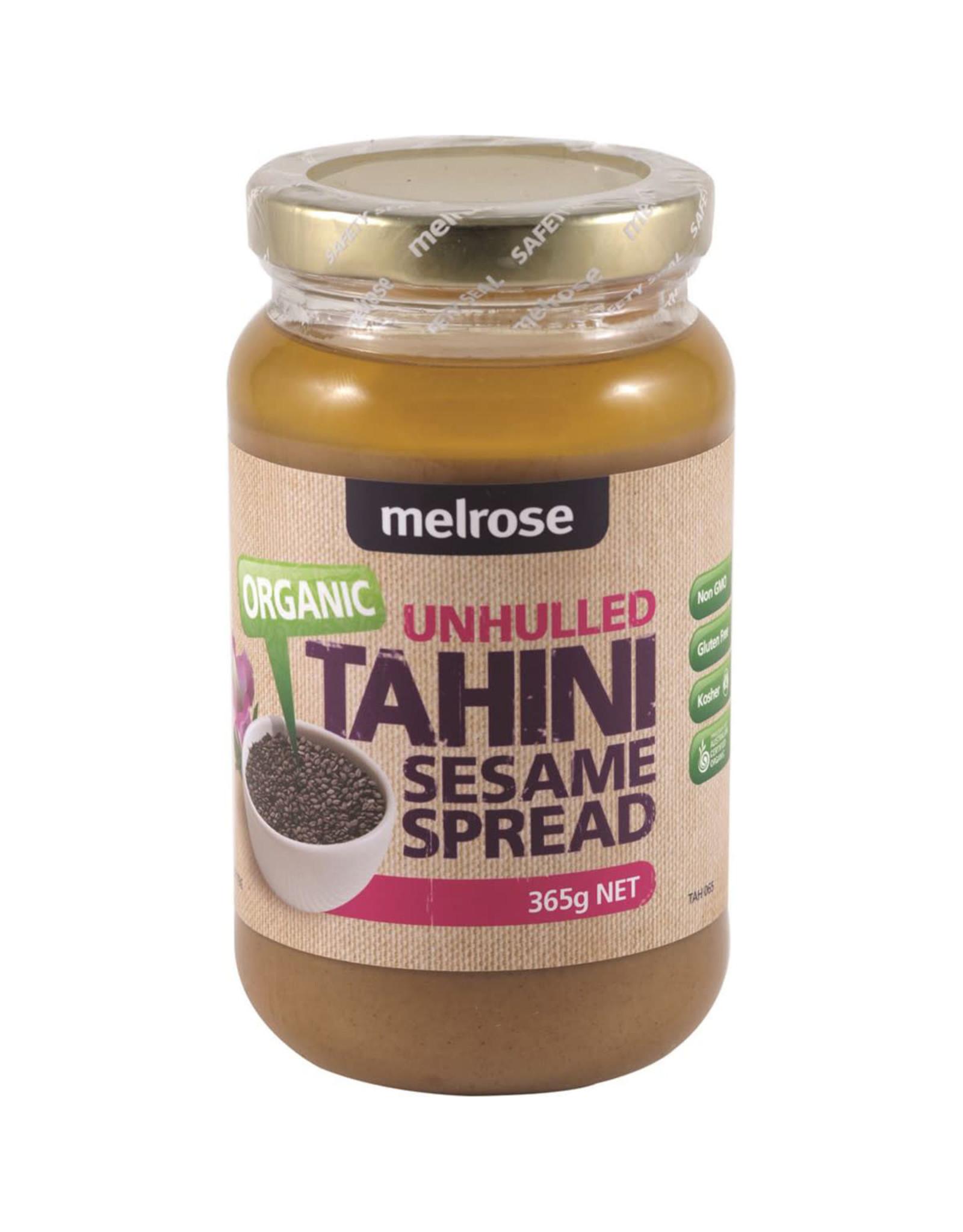Melrose Organic Tahini Unhulled 365g