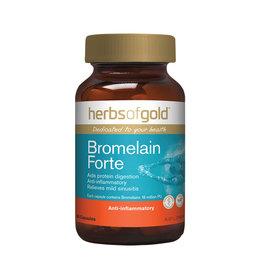 Herbs of Gold Bromelain Forte 60c
