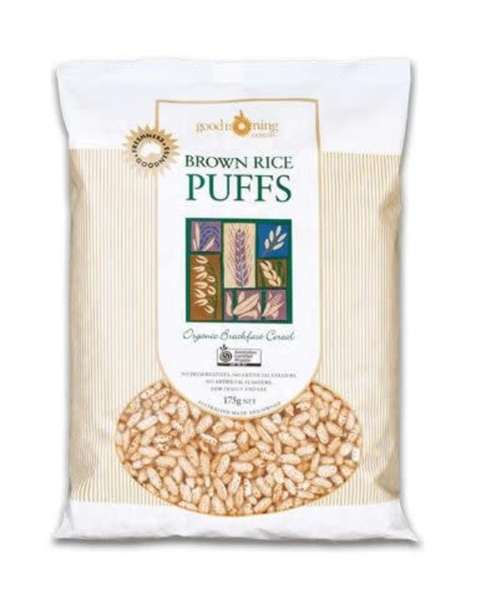 Good Morning Cereals Brown Rice Puffs 125g