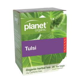 Planet Organic Organic Tulsi Herbal Tea - 25 Tea Bags