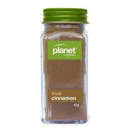 Planet Organic Cinnamon Ground Shaker - Organic - 45g