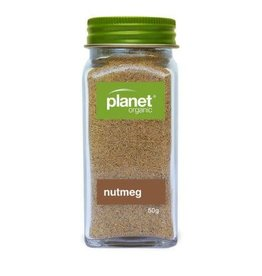 Planet Organic Nutmeg Ground Shaker - Organic - 50g