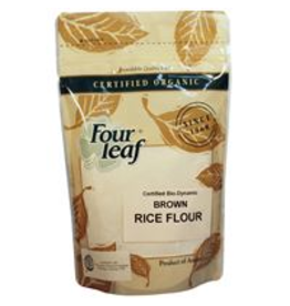 Four Leaf Brown Rice Flour - Biodynamic - 300g