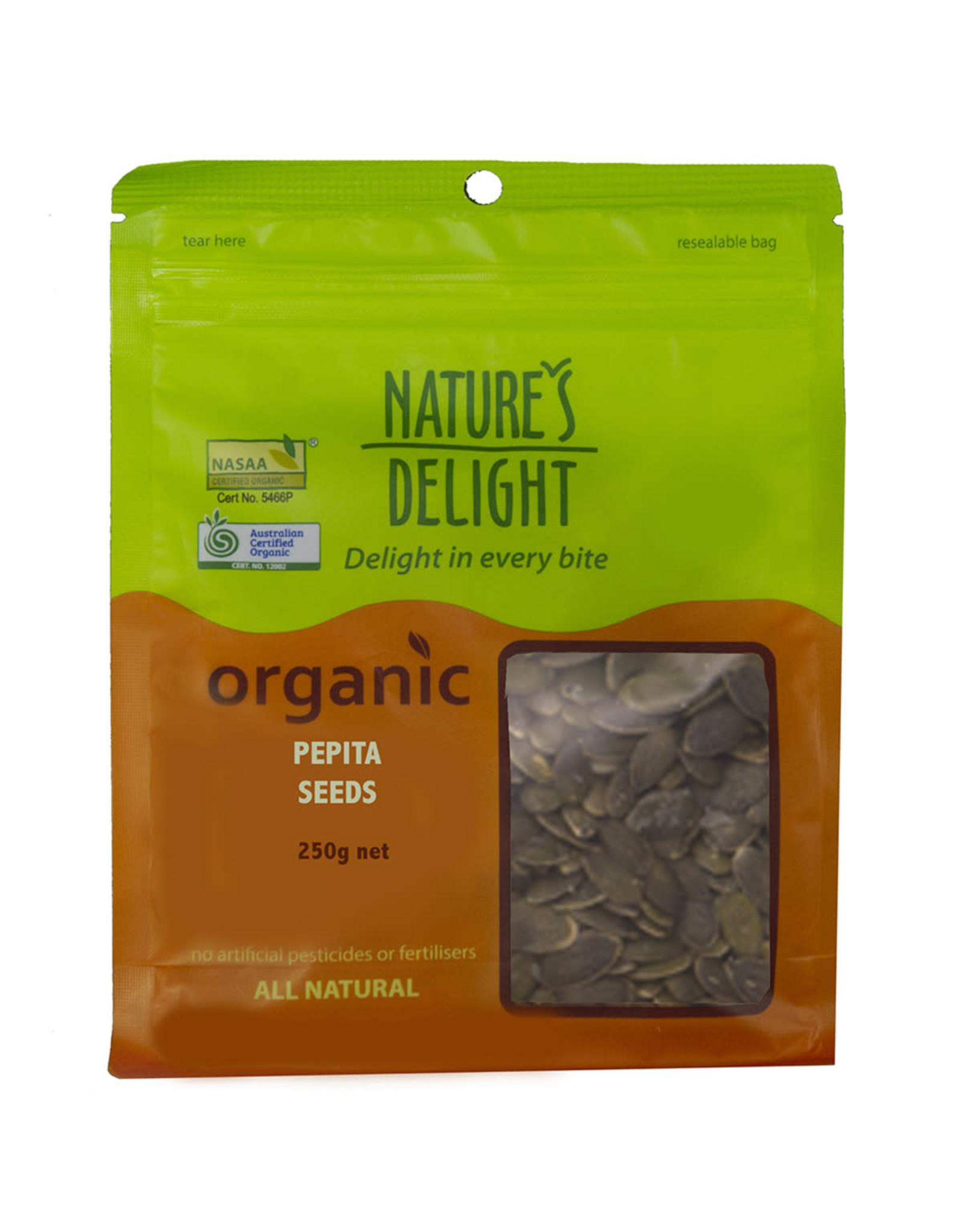 Nature's Delight Organic Pepita Seeds 250g