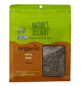 Nature's Delight Organic Pepita Seeds 250g