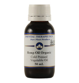 Essential Therapeutics Organic Hemp Oil (virgin, cold pressed) 50ml