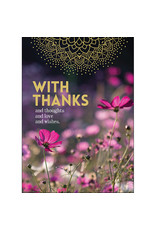 Affirmations Publishing House Greeting Card - With Thanks and Thoughts