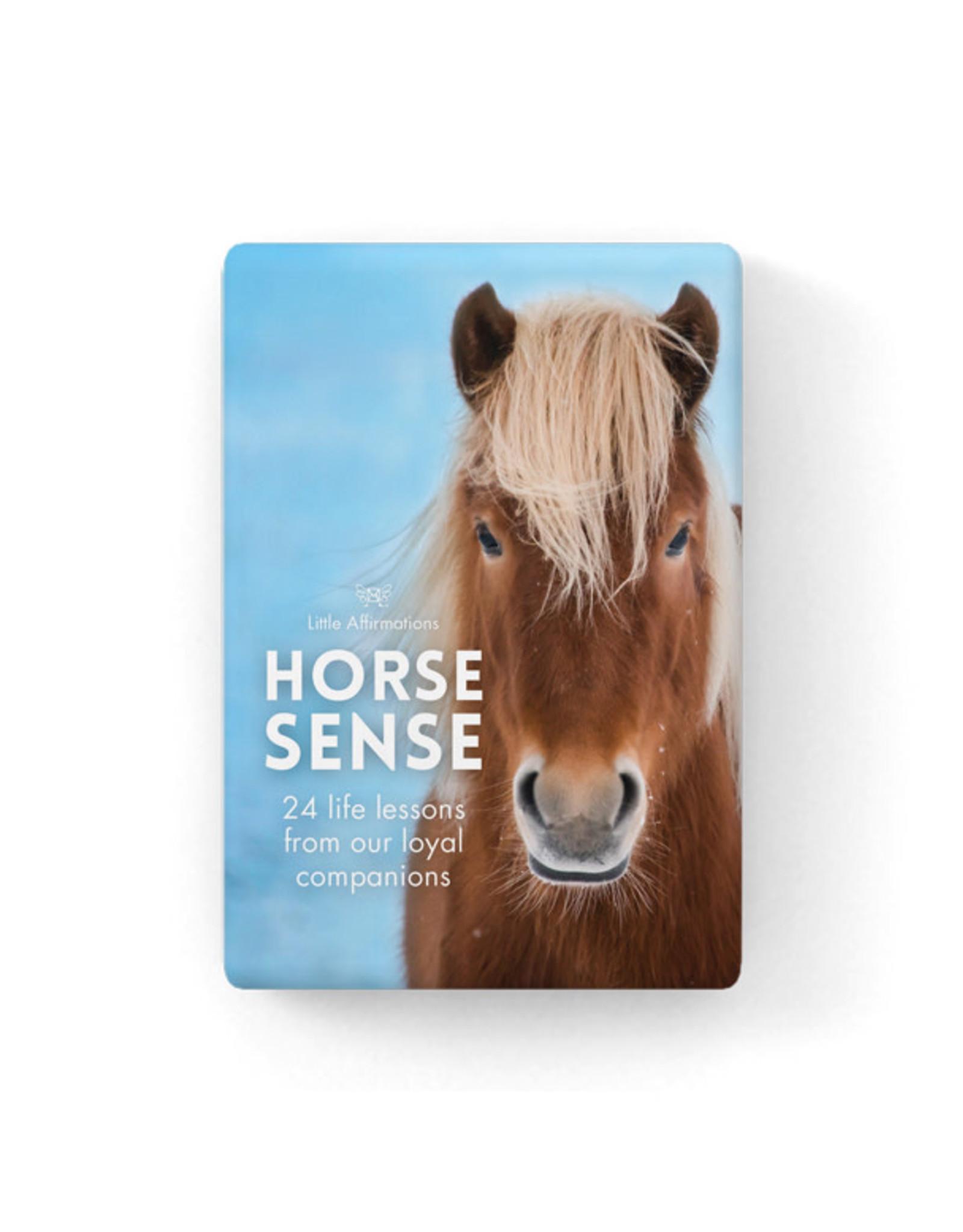 Affirmations Publishing House Little Affirmations - Horse Sense