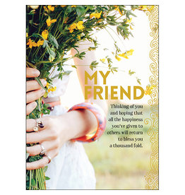 Affirmations Publishing House Greeting Card - My Friend