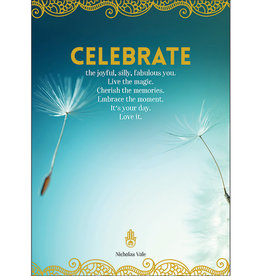 Affirmations Publishing House Greeting Card - Celebrate