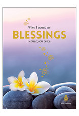 Affirmations Publishing House Greeting Card - When I Count My Blessings