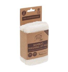 Eco Basics Bamboo Washing Up Pad 2pk