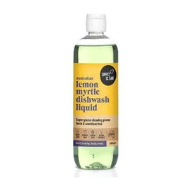 Simply Clean Lemon Myrtle Dishwashing Liquid 1L