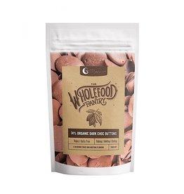 NutraOrganics Organic Dairy Free Dark Choc Buttons 74%