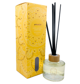 Distillery Fragrance House Reed Diffuser Awaken Lemon Blossom & Summer Moss 200ml