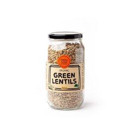 Mindful Foods Organic Green Lentils 900g