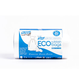 Sugarwrap Eco Rubbish Bags - pk30