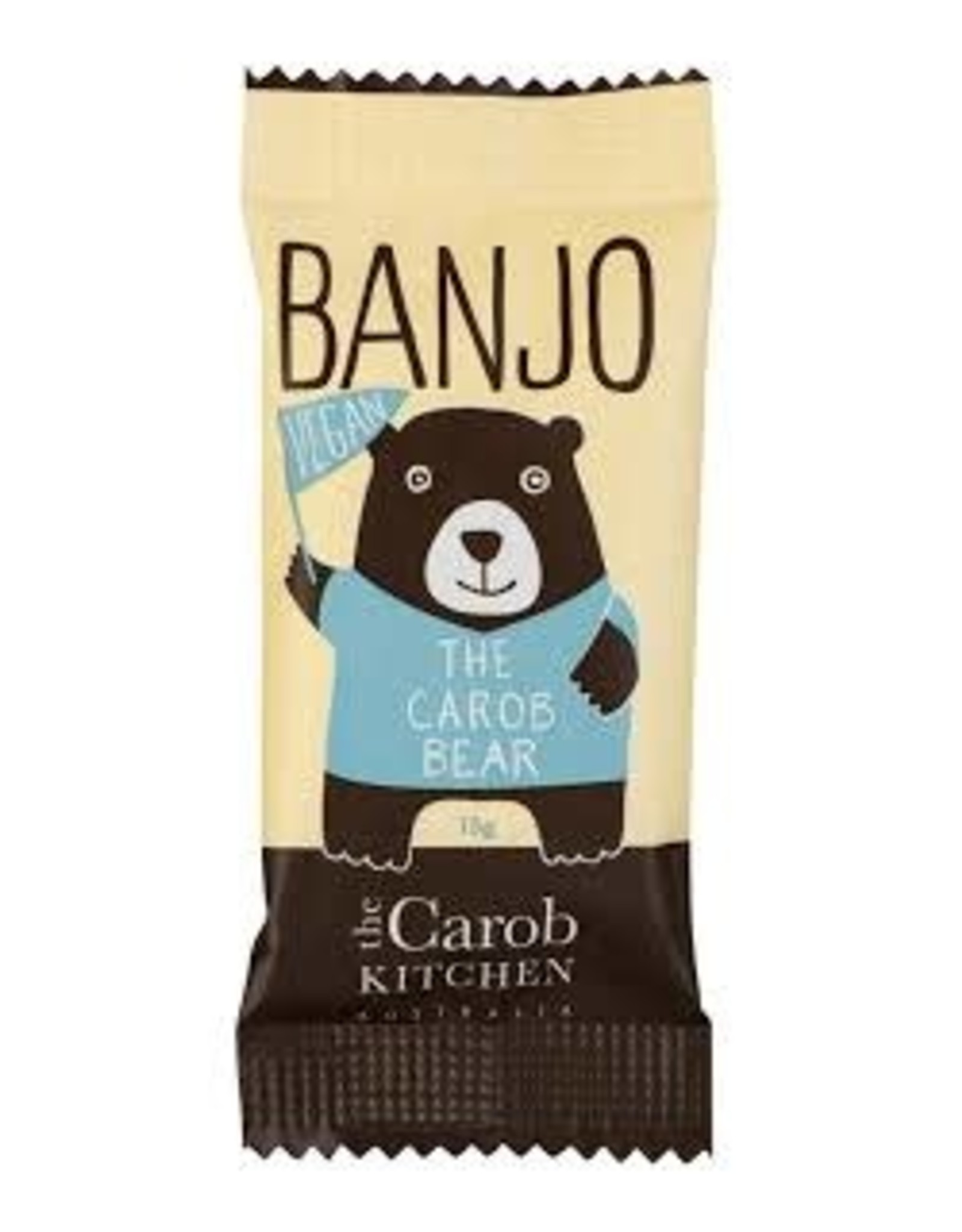 The Carob Kitchen Banjo Bear Vegan 15g