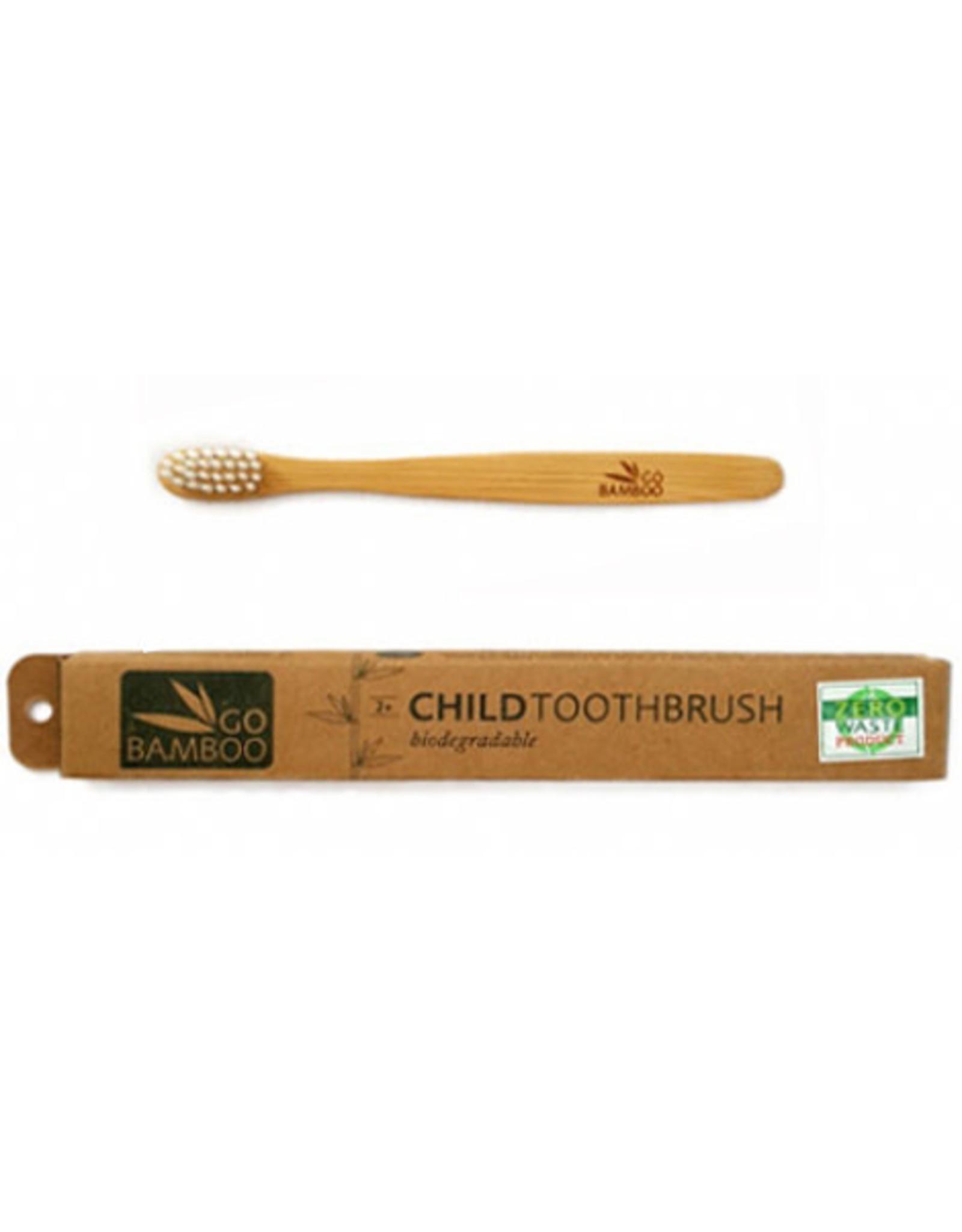 Go Bamboo Bamboo Toothbrush - Child