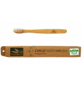 Go Bamboo Bamboo Toothbrush - Child