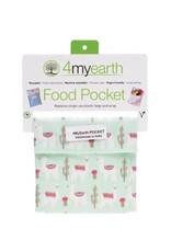4MyEarth Food Pocket Llamas - 14x14cm