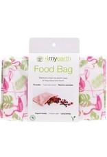 4MyEarth Food Bag Flamingoes 25 x 20cm