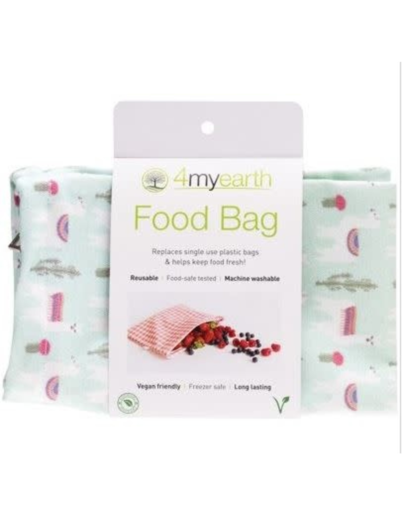 4MyEarth Food Bag Llamas 25 x 20cm