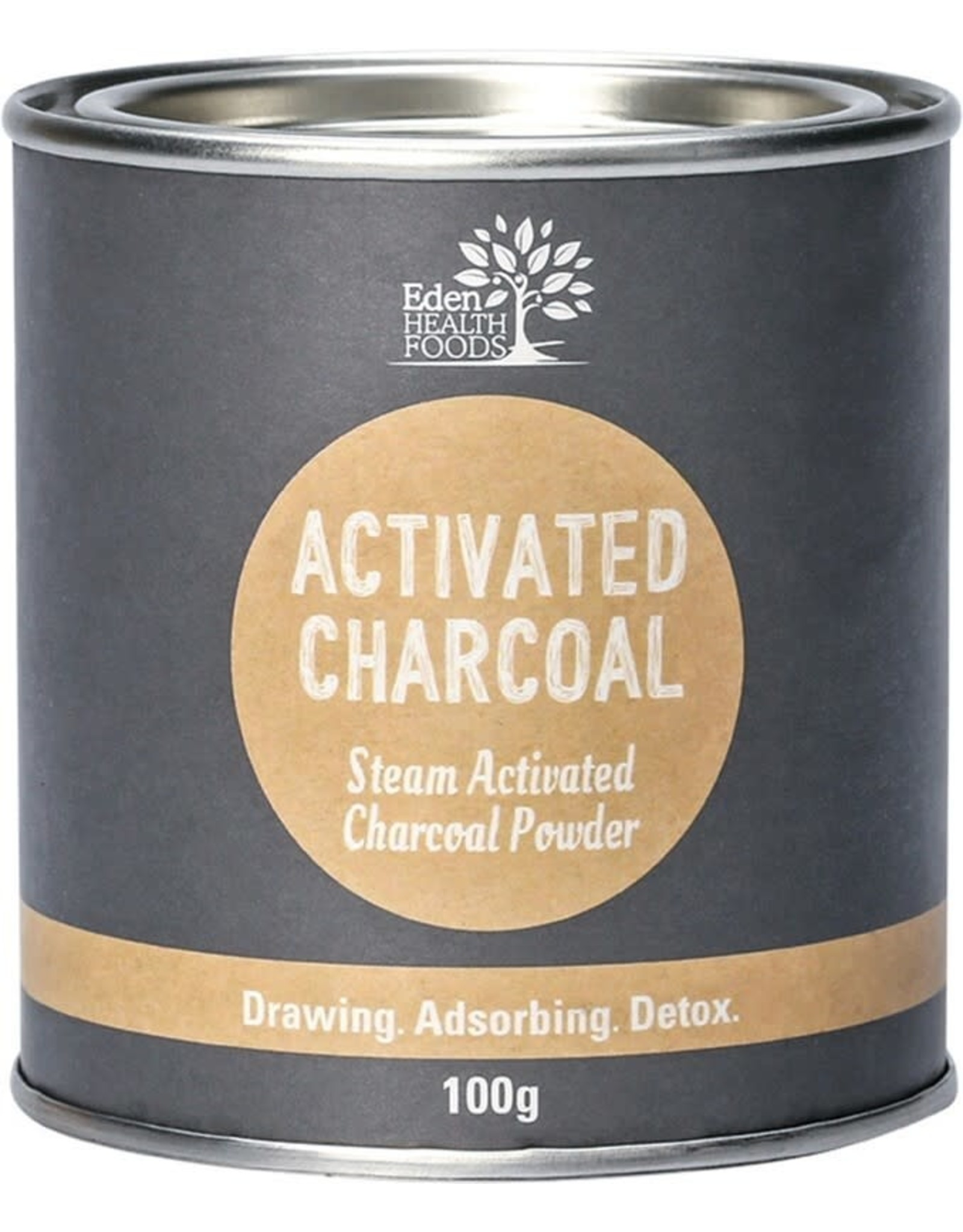 Eden Health Products Activated Charcoal 100G