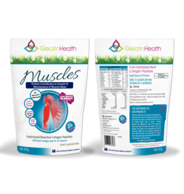 Gelatin Health Muscle Collagen