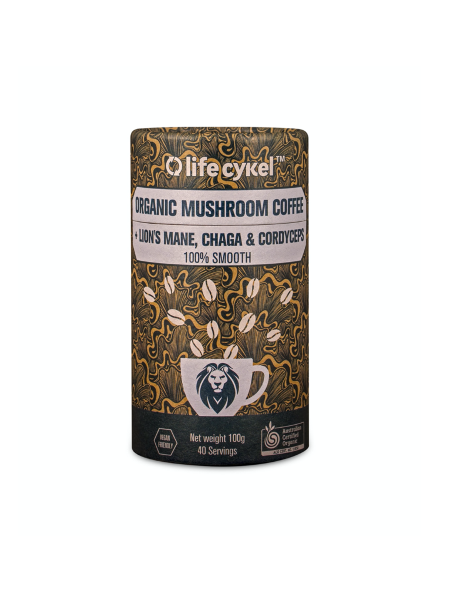 Life Cykel Magick Mushroom Coffee - Organic - 40g