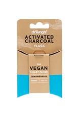Dr Tung's Smart Vegan Dental Floss Charcoal & Lemongrass