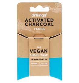Dr Tung's Smart Vegan Dental Floss Charcoal & Lemongrass