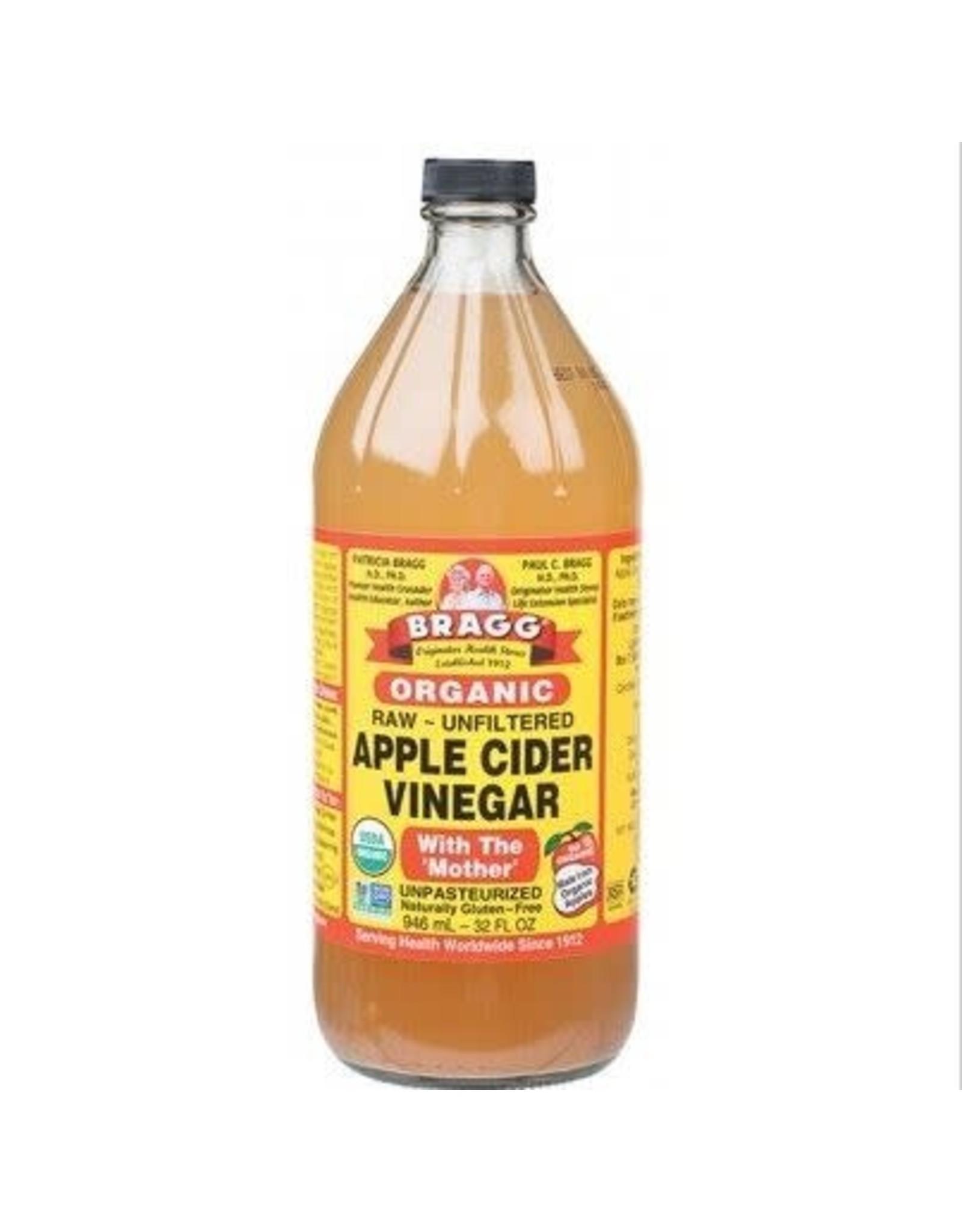 Bragg Apple Cider Vinegar  Unpasteurised & Unfiltered 473ml