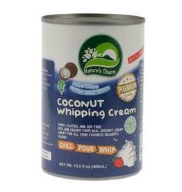 Nature's Charm Coconut Whipping Cream - 400g