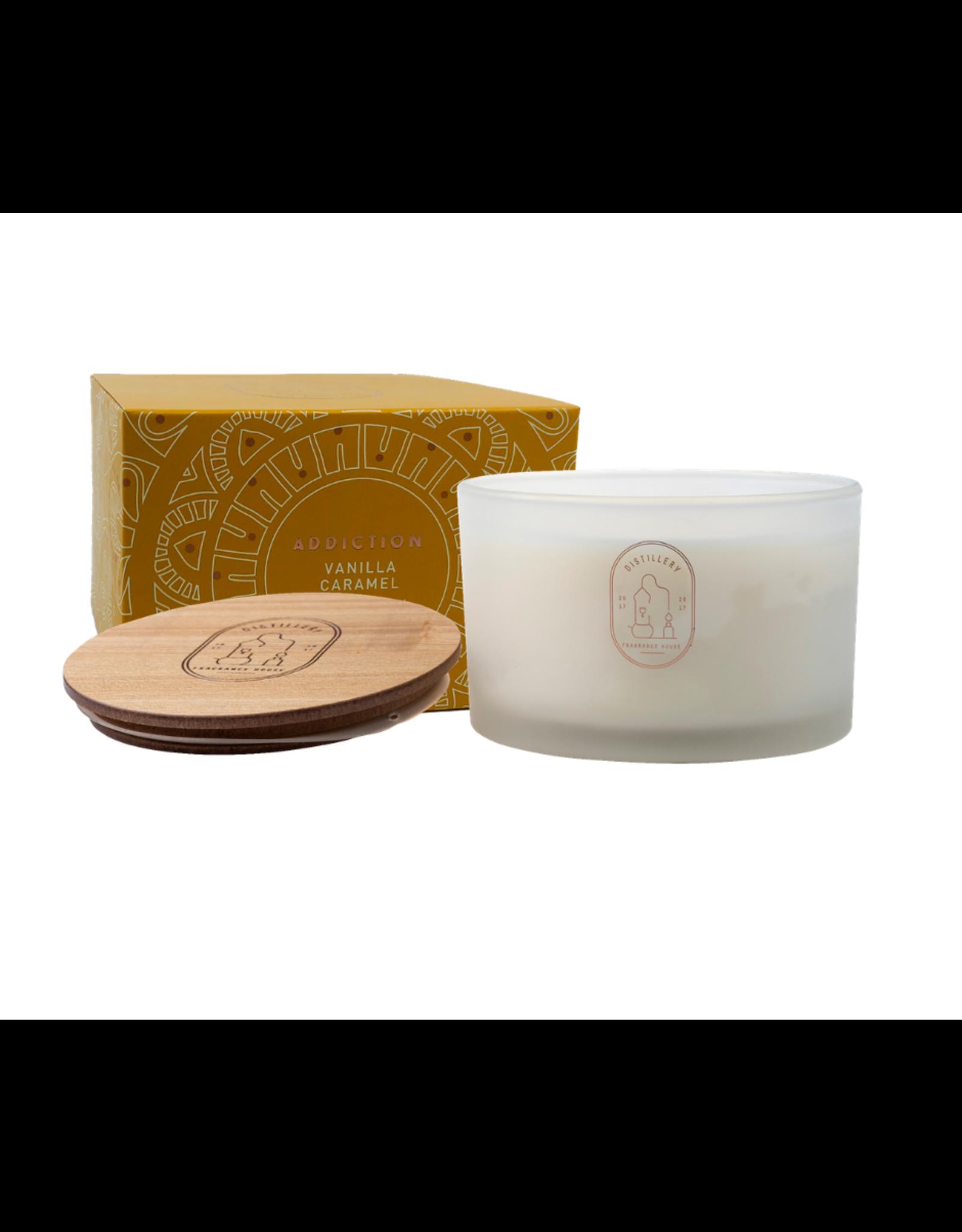 Distillery Fragrance House Soy Candle - Vanilla Caramel
