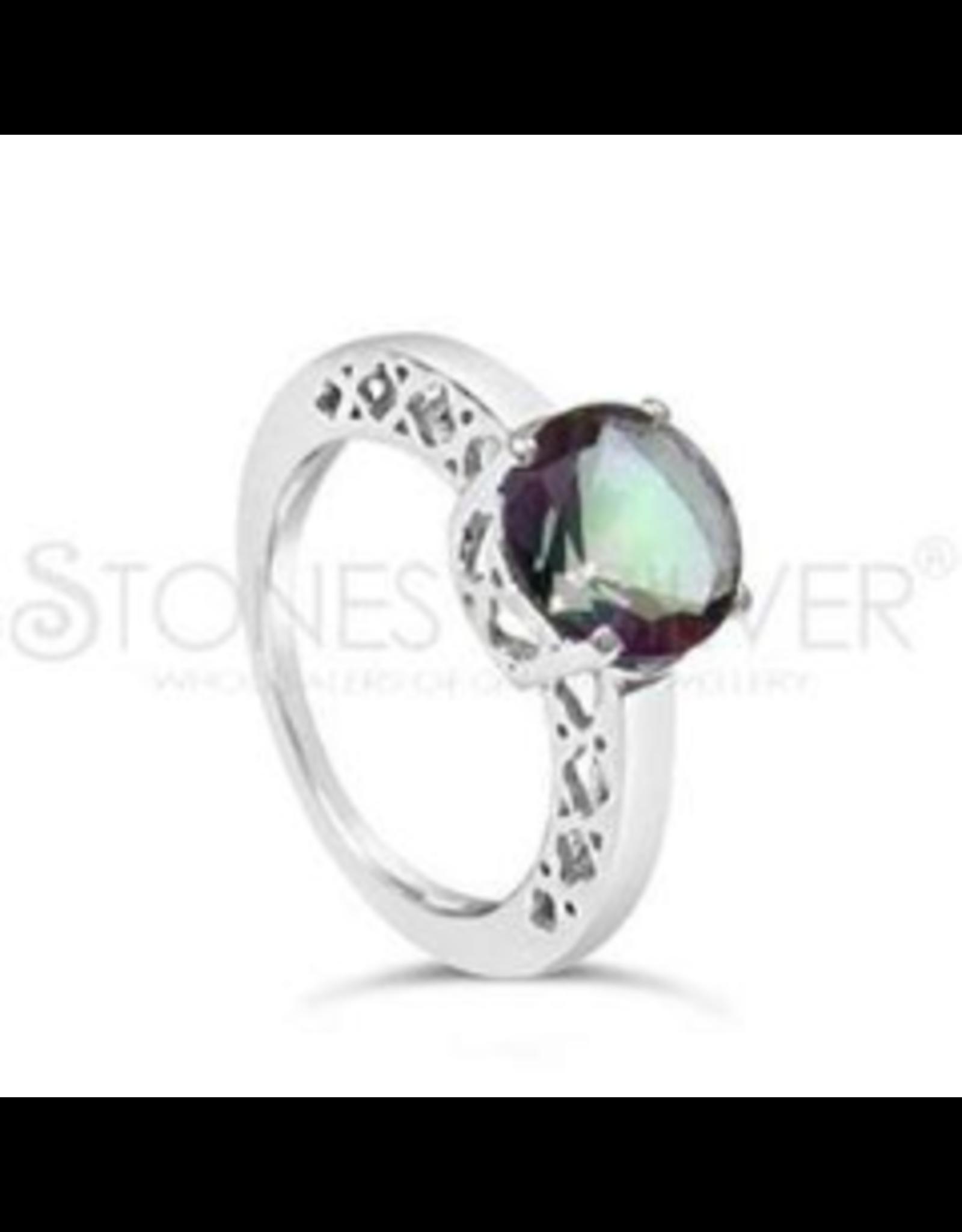 Stones & Silver Mystic Quartz Ring